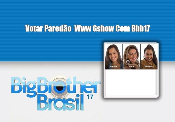 Votar Paredao Www Gshow Com Bbb
